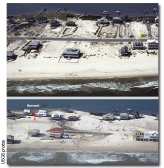 Before and After photos of Florida Gulf Coast