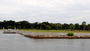 traditional seawall in Palm Coast, FL