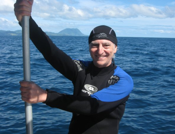 David Helvarg is a renowned ocean journalist and founder of Blue Frontier.