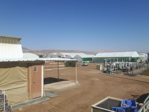 Pictured here is the aquaculture facility Boxman will be stationed at.