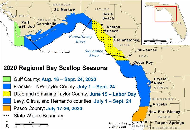 2020 FWC scalloping map