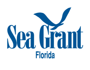 Florida Sea Grant logo, blue with white or transparent background
