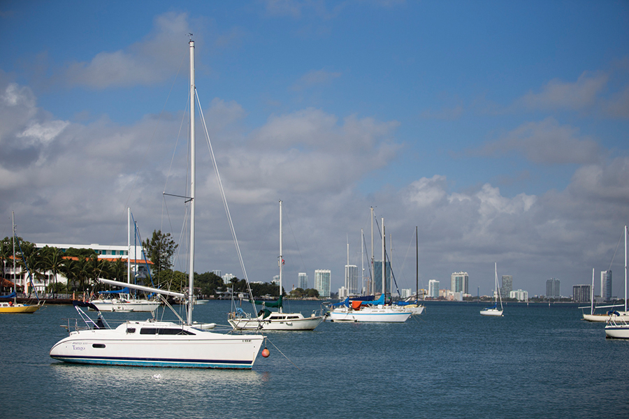 anchoring field in Miami