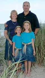 Chris Koepfer and his family