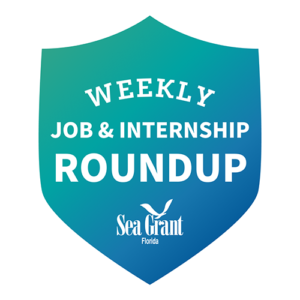 decorative badge for weekly job roundup campaign